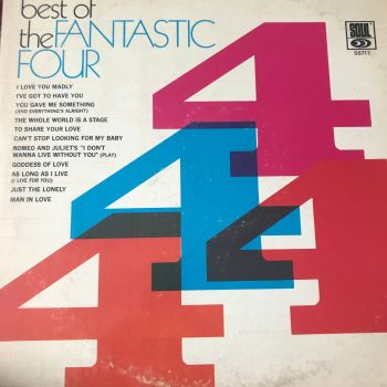 Fantastic Four-The best of-Soul LP E+