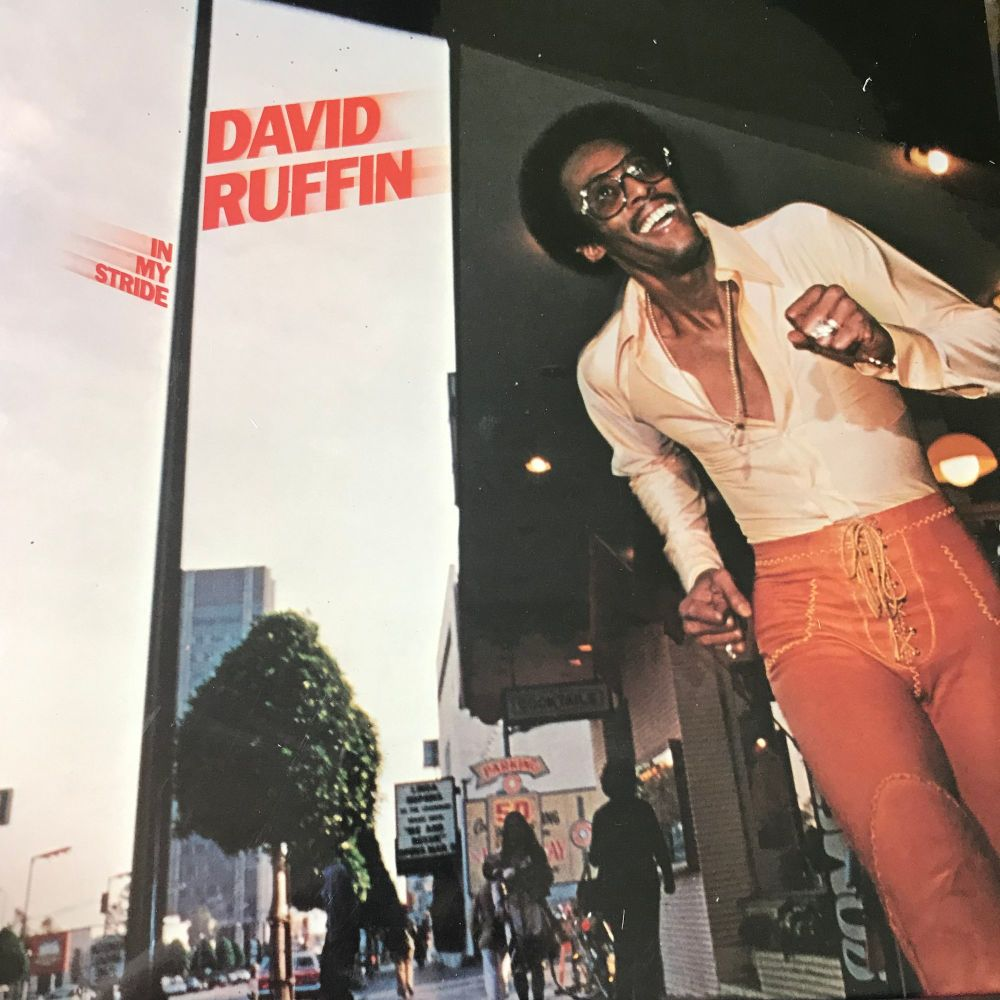 David Ruffin-In my stride-Motown LP E+