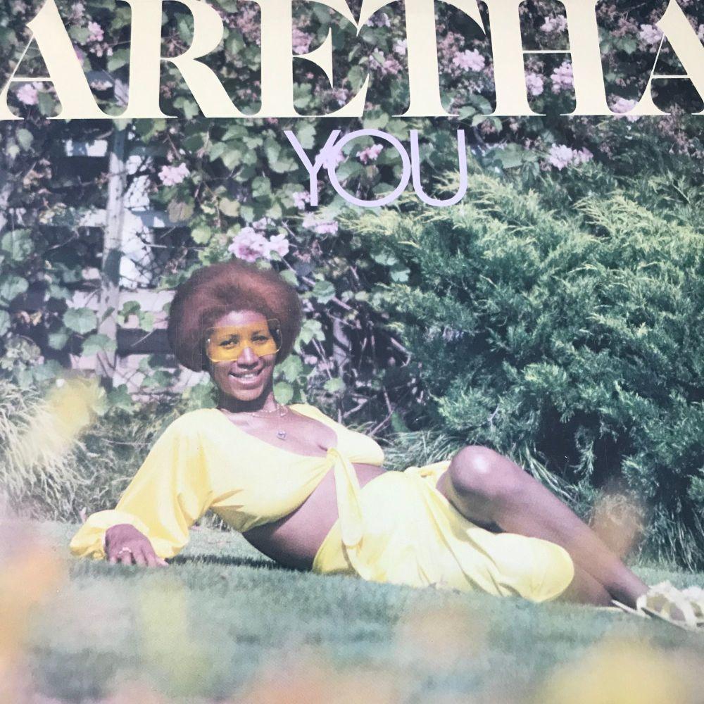 Aretha Franklin-You-Atlantic LP E+