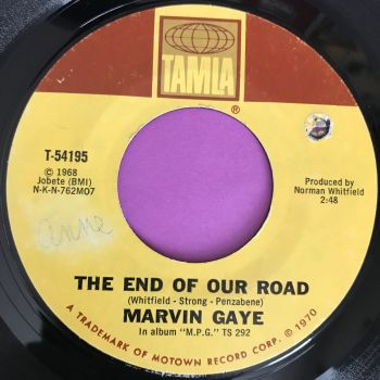 Marvin Gaye-The end of our road-Tamla E