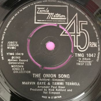 Marvin Gaye and Tammi Terrell-The onion song-TMG 1047 E+