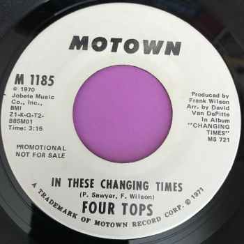 Four Tops-In these changing times-Motown WD E+