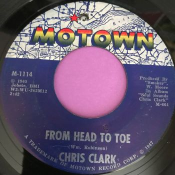 Chris Clark-From head to toe-Motown E