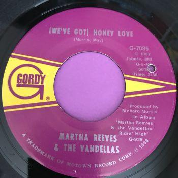 Martha Reeves-Honey love-Gordy E+