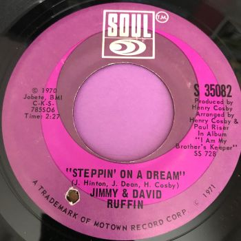 Jimmy & David Ruffin-Steppin on a dream-Soul E+