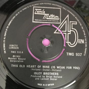 Isley Brothers-This old heart of mine-TMG 937 E+