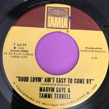 marvin & Tammi-Good lovin' ain't easy-Tamla vg+