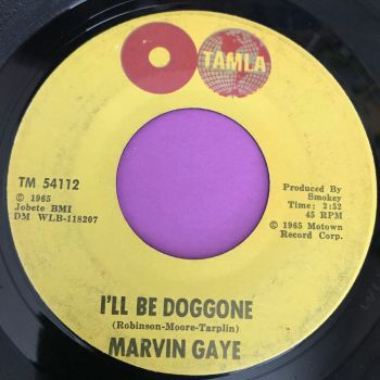 Marvin Gaye-I'll be doggone-Tamla  E