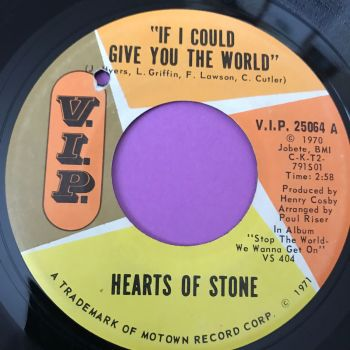 Hearts of Stone-If I could give you the world-VIP E