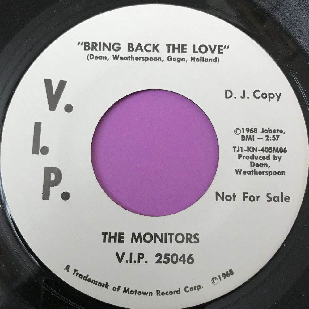 Monitors-Bring back the love-VIP WD M-