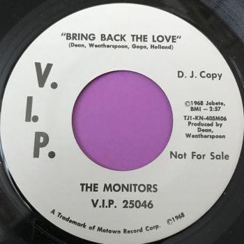 Monitors-Bring back the love-VIP WD M-