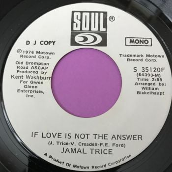 Jamal Trice-If love is not the answer-Soul WD M-