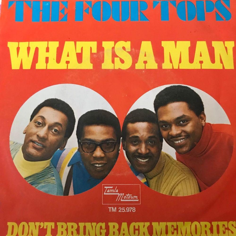 Four Tops-Don't bring back memories-Dutch Tamla Motown PS E+