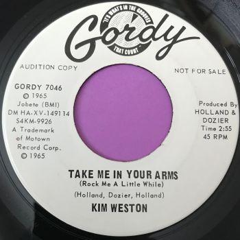 Kim Weston-Take me in your arms-Gordy WD E+