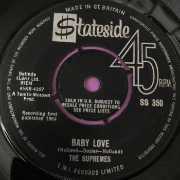 Supremes-Baby love-UK Stateside E