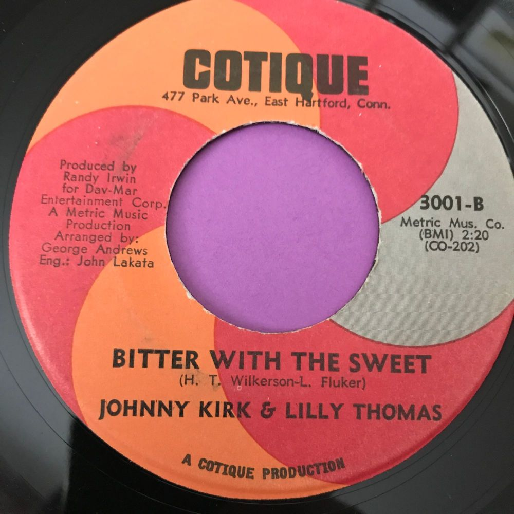 Johnny Kirk & Lilly Thomas-Bitter with the sweet-Cotique E