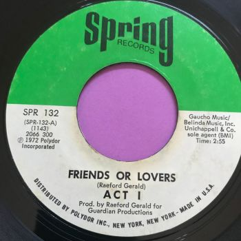 Act 1-Friends or lovers-Spring E+