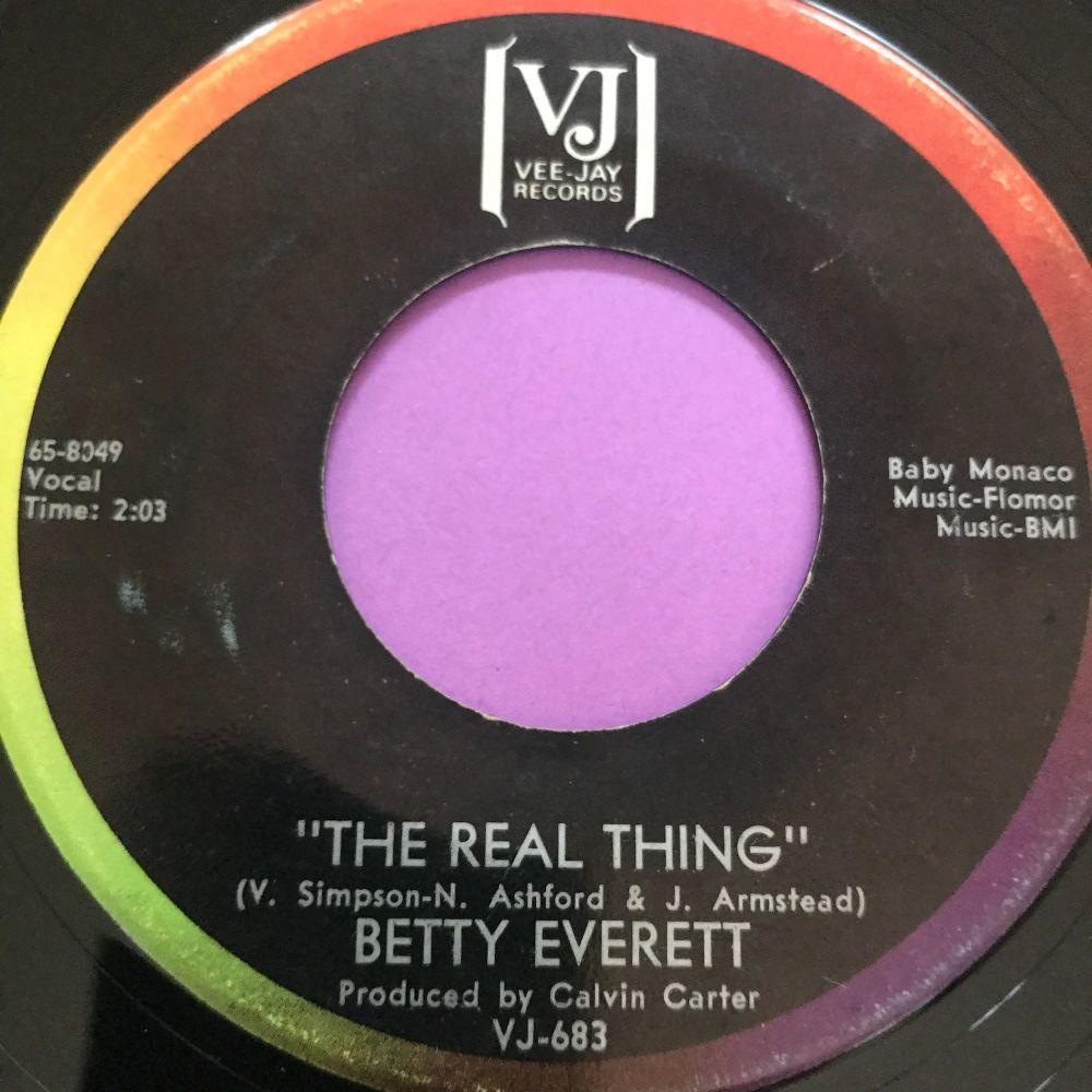 Betty Everett-The real thing-VJ E+