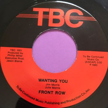Front Row-Wanting you-TBC M-