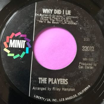 Players-Why did I lie-Minit E+