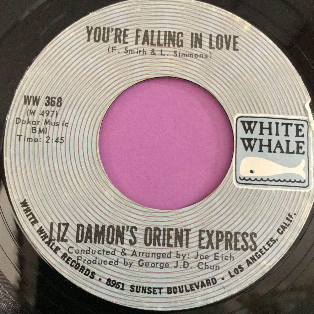 Liz Damon-You're falling in love-White whale E+