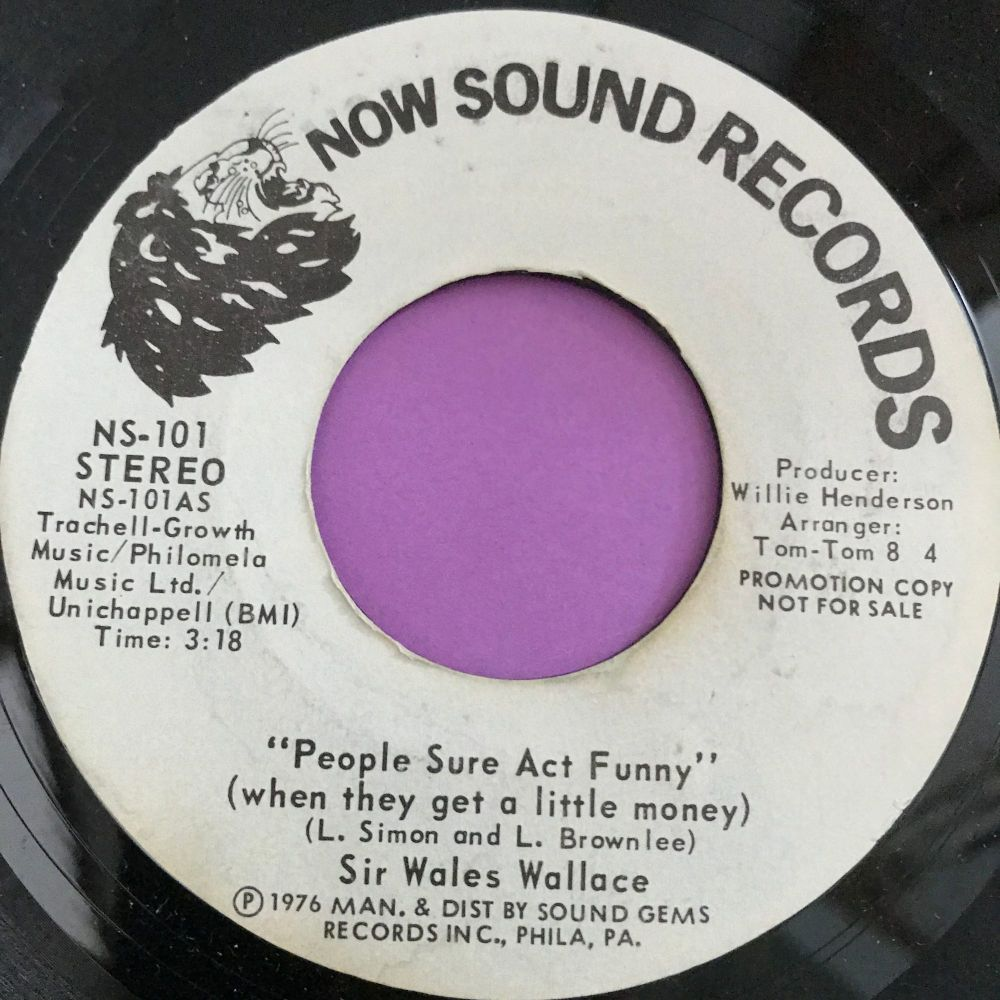 Wales Wallace-People sure act funny-Now sounds WD E+