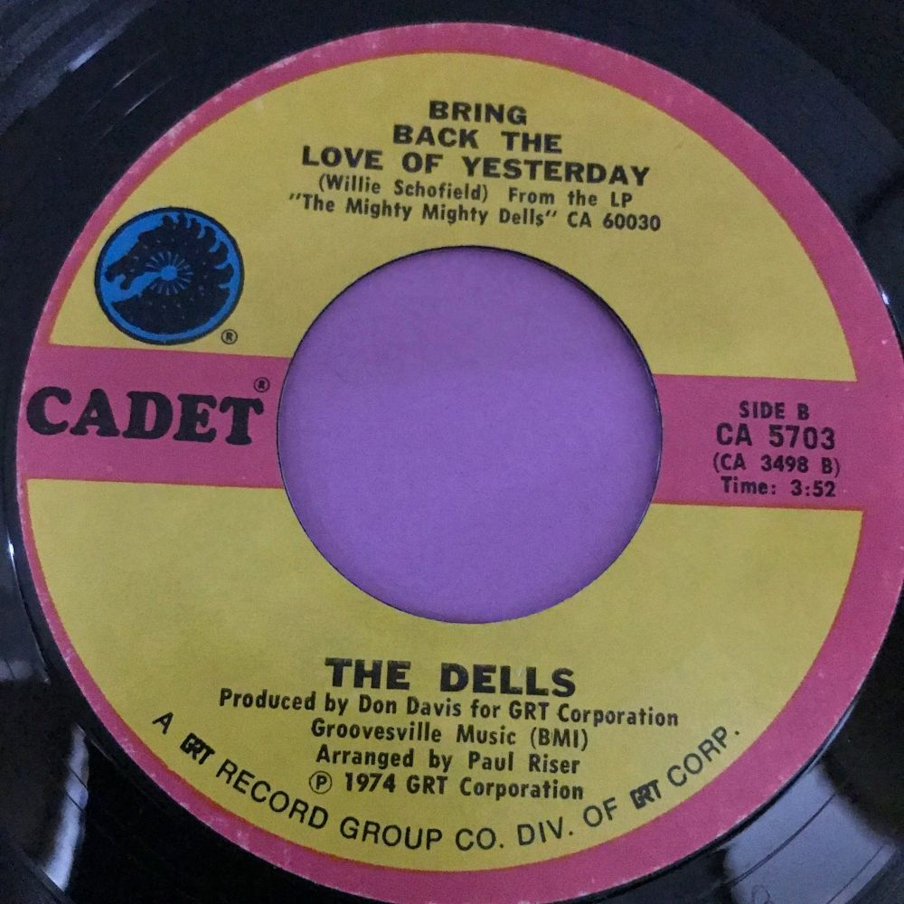 Dells-Bring back the love of yesterday-Cadet E+