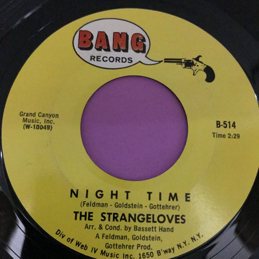 Strangeloves-Night time-Bang E+