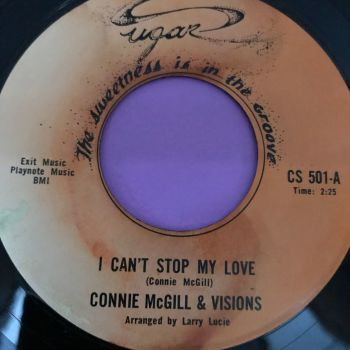 Connie McGill-I can't stop my love-Sugar E