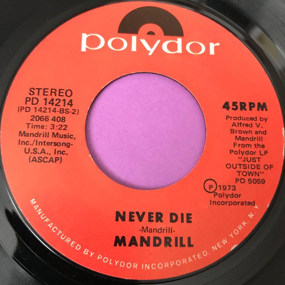 Mandrill-Never die-Polydor E+