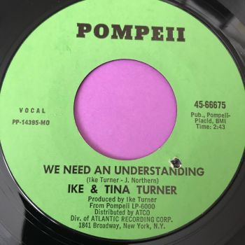 Ike & Tina Turner-We need understanding-Pompeii E+