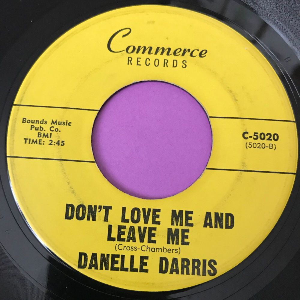 Danelle Darris-Don't love me and leave me-Commerce E+