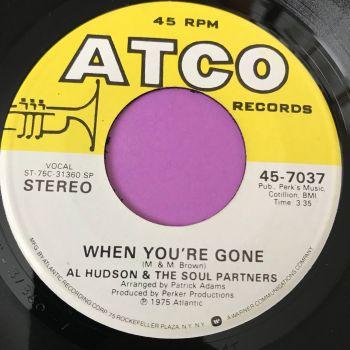 Al Hudson-When you're gone-Atco M-