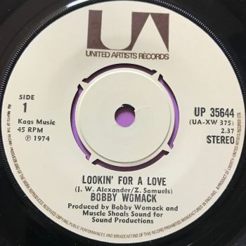 Bobby Womack-Lookin' for a love-UK UA E+