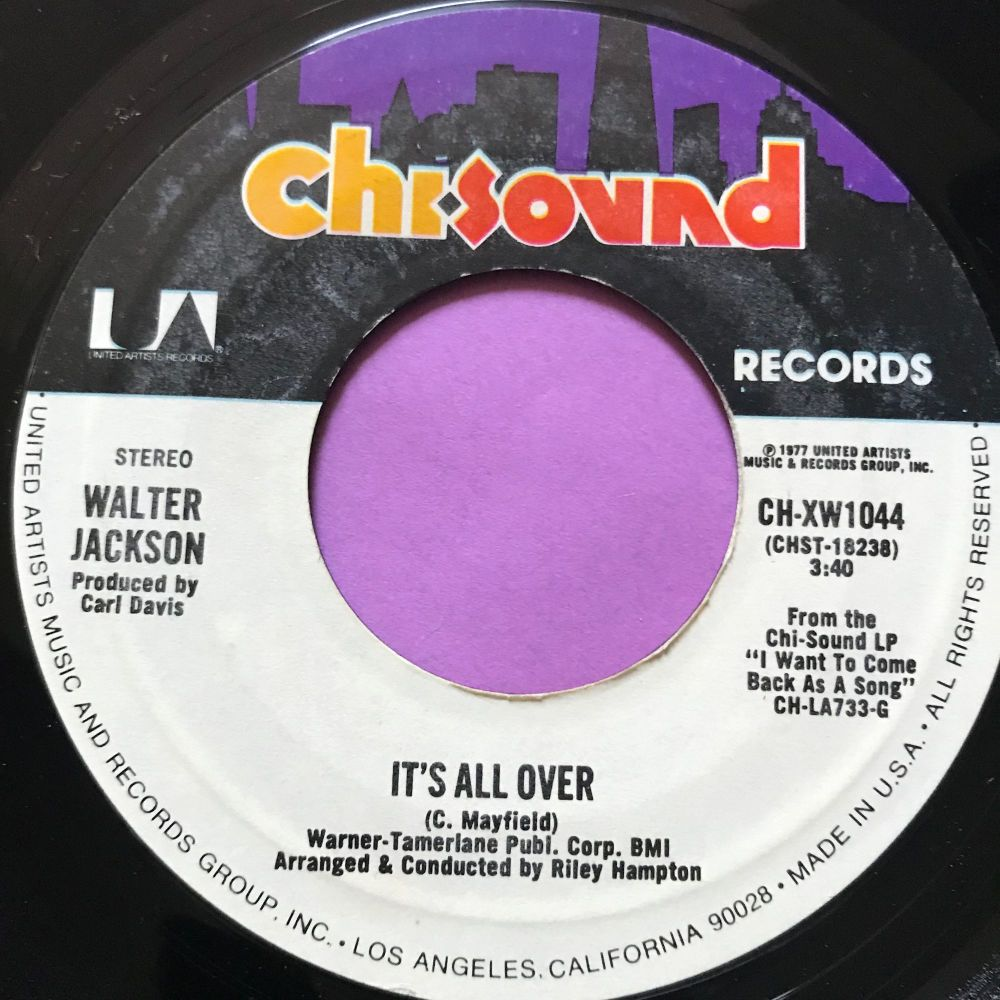 Walter Jackson-It's all over-ChiSound E+