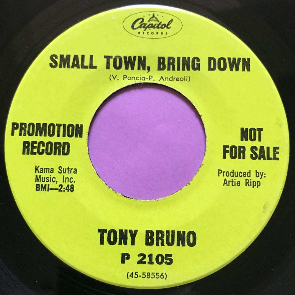 Tony Diamond-Small town, bring down-Capitol Demo E+