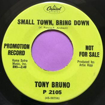 Tony Bruno-Small town, bring down-Capitol Demo E+