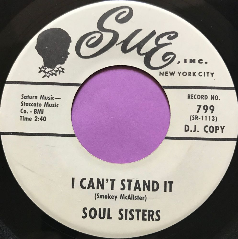 Soul Sisters-I can't stand it-Sue WD E+