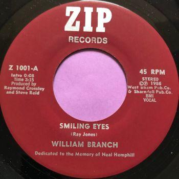 William Branch-Smiling eyes-Zip M-