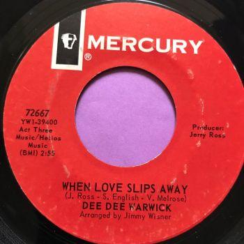 Dee Dee Warwick-When loves slip away-Mercury E