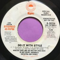Webster Lewis-Do it with style-Epic Demo E+