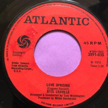 Otis Leaville-Love uprising-UK Atlantic E+