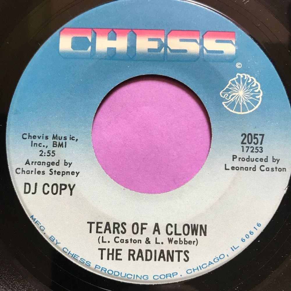 Radiants-Tears of a clown/ I'm just a man-Chess E+