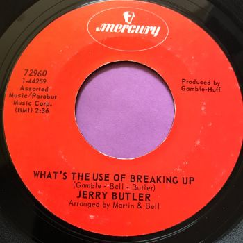 Jerry Butler-What's the use of breaking up-Mercury E