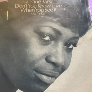 Francine Barker-Don't you know love....-CBS PS E+