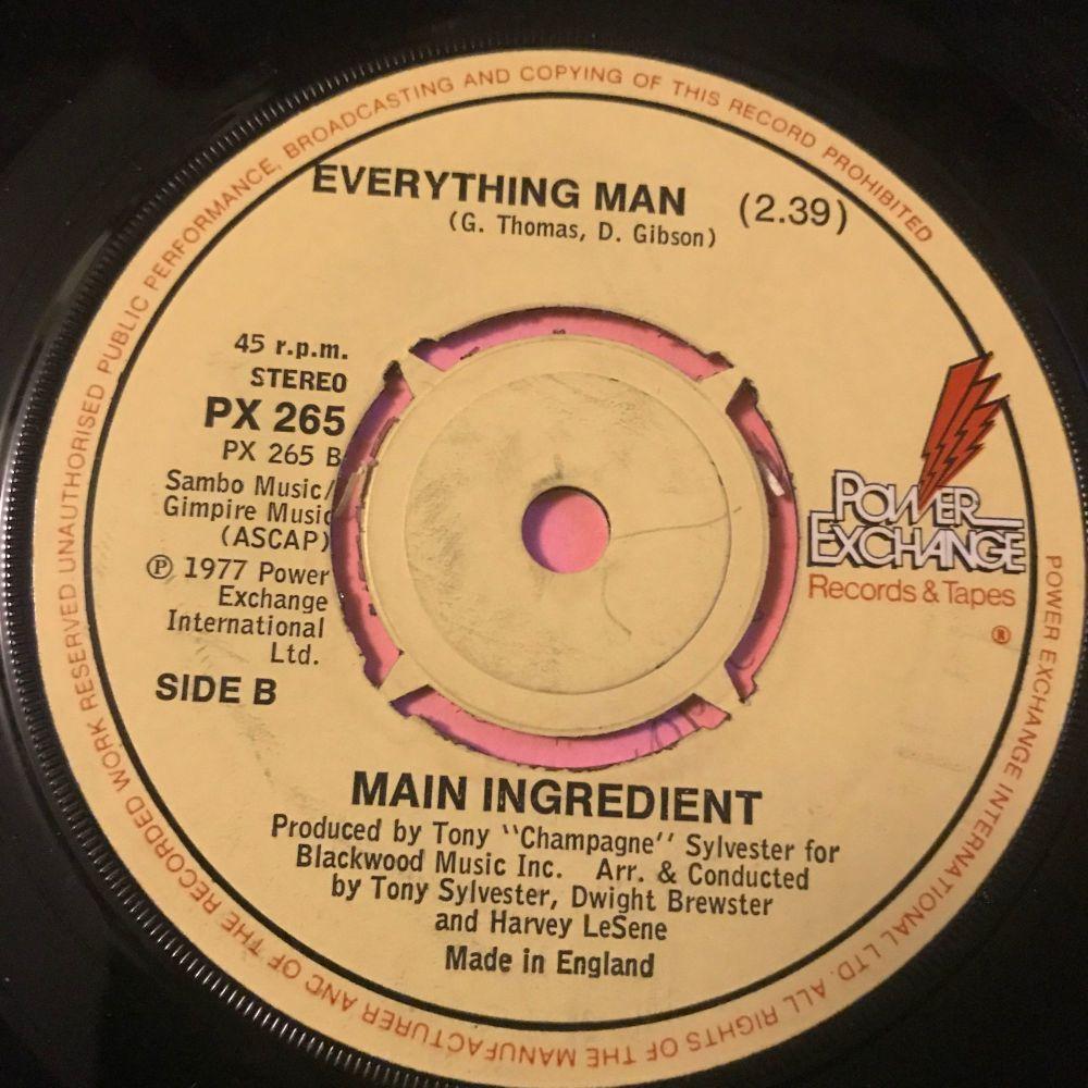 Main Ingredient-Everything Man-UK Power exchange E+