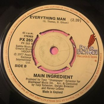 Main Ingredient-Everything Man-UK Power exchange E+