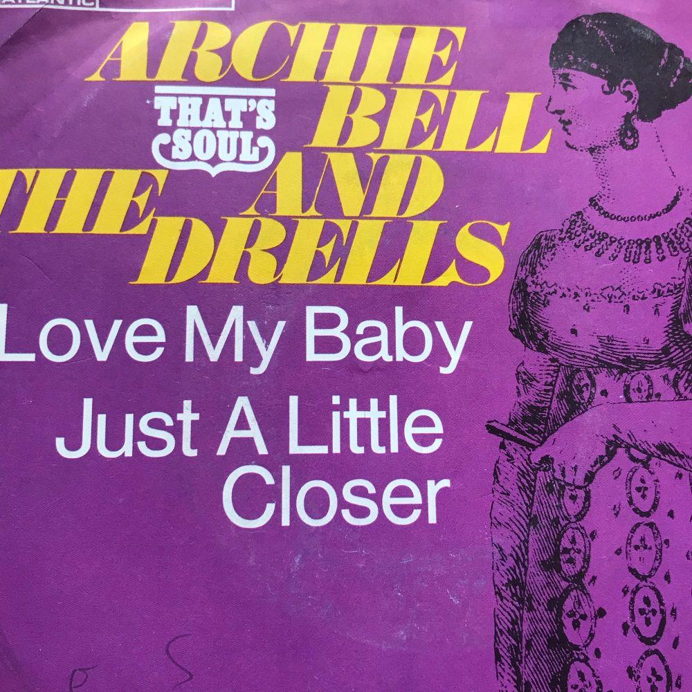 Archie Bell-Just a little bit closer-German Atlantic PS E+