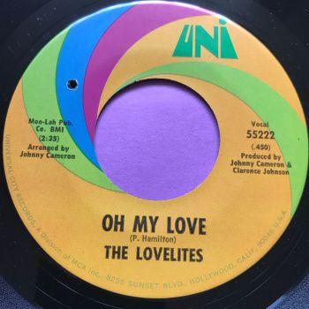 Lovelites-Oh my love-Uni M-