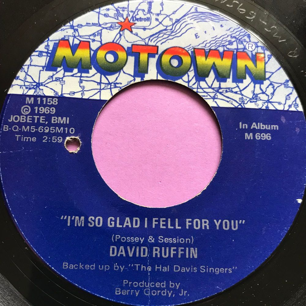 David Ruffin-I'm so glad I fell for you-Motown E+